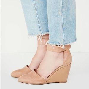 JEFFERY CAMPBELL x FREE PEOPLE Tatum Wedge Heels 9